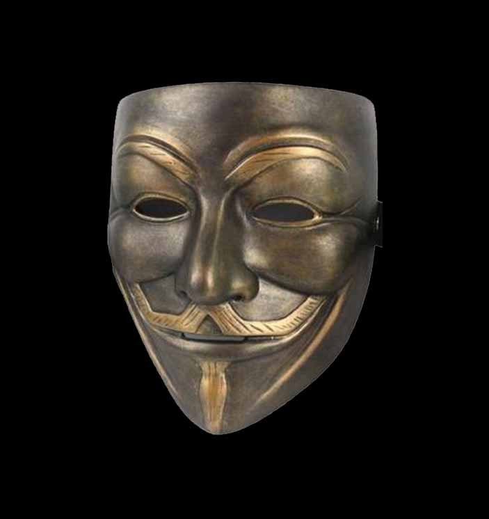 anonymous-masker-resin-brons-deluxe